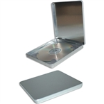 Hinged Square CD Tins