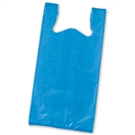 Royal Blue Plastic T-Shirt Bags