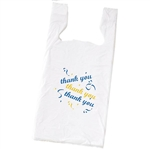 Thank You Plastic T-Shirt Bags
