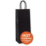 Black Kraft Wine Bags