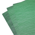 Waxed Tissue Paper Food Sheets - Green