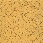 Gold Swirls Gift Wrap Wholesale