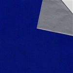 Matte Royal/Silver Reversible Gift Wrap Wholesale