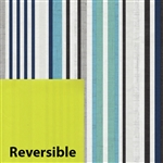 Euro Stripe Reversible Gift Wrap Wholesale