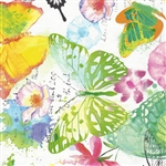 Colourful Butterflies Gift Wrap Wholesale