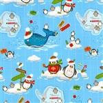 Gift Wrap Christmas Paper - South Pole