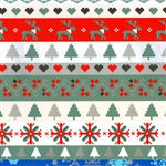 Sweater Knit Christmas Gift Wrap Paper