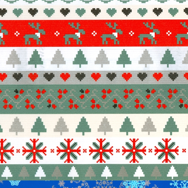 Christmas Gift Wrap Design.Sweater Knit Christmas Gift Wrap Available 200 Rolls