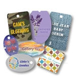 Custom Full Color Digital Tags No Strings-Small & Medium Shapes