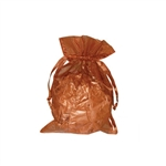 Organza bags Copper