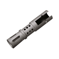 Mini-14 Muzzle Brake-Stainless Steel Finish