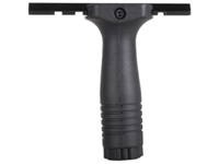 "AR15  Nylon Vertical Grip w/4""Rail Assembly w/Plug"