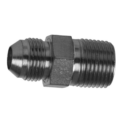 Parker 6-6 FTX-S Male Adapter 3//8 JIC X 3//8 NPT Male Steel