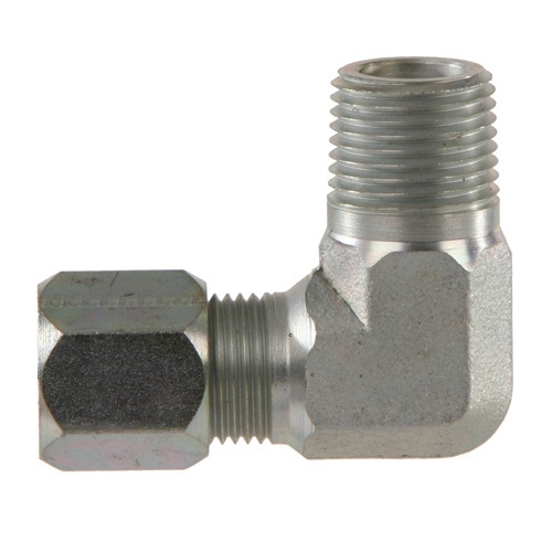 1//2 in Flareless Bite-Type x 3//8 in Male Pipe Brennan Straight Adapter 16 Units