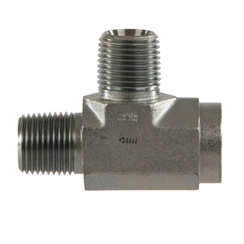 "5603-12-12-12 Pipe TEE Hydraulic Fitting 3//4/"" Male x 3//4/"" Male x 3//4/"" Female"