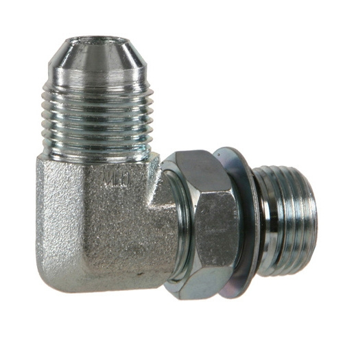 3//8 Flare x O-Ring Boss SS Male Connector