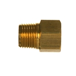NPTF Female x NPTF Male Brass Fitting