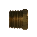 NPTF Pipe Male x NPTF Pipe Female Brass Fitting