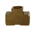 NPTF Pipe Female Tee Brass Fitting