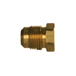 SAE Tube Plug Brass Fitting