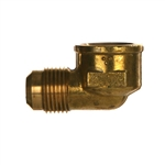 SAE x NPTF Pipe Female Brass Fitting