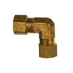 Compression Tube Union Brass Fitting