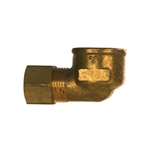 Compression Tube x Female Ppipe Brass Fitting