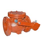 SC-20FCW | Cast Iron Flanged AWWA Swing Check Valve with Lever and Weight - Series 20FCW