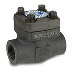 SC-24834SC | Forged Carbon Steel Class 800 Socket Weld Swing Check Valve - Series SV24834SC