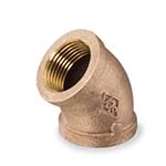 SC-36F-1L | Bronze 125# Threaded Floor Flange, UL