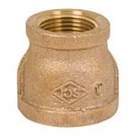 SC-36RC1L | Lead-Free Brass 125# Threaded Reducing Coupling, UL