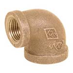 SC-36RE1L | Lead-Free Brass 125# Threaded 90° Reducing Elbow, UL