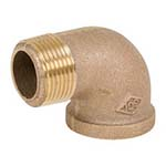 SC-36SE1 | Bronze 125# Threaded 90° Street Elbow, UL