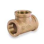 SC-36T-1L | Lead-Free Brass 125# Threaded Tee, UL