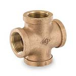 SC-36X-1L | Lead-Free Brass 125# Threaded Cross, UL