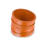 SC-65EL | Grooved 11–1/4° Elbow Standard Radius Orange Paint Coating UL/FM–65EL