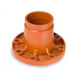 SC-65FA | Grooved Grooved x Flange Adapter Orange Paint Coating UL/FM - 66FA