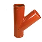 SC-65LY | Grooved 45° Lateral Orange Paint Coating–66LY