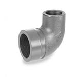 SC-66AE | Grooved Adapter Elbow, Grooved x Threaded Galvanized UL/FM - 66AE