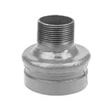SC-66CRT | Grooved Concentric Reducer Male NPT Galvanized - 66CRT