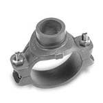 SC-66MG | Grooved Mechanical Tee Grooved Outlet Galvanized UL/FM - 66MG