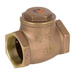 SC-9191 | Forged Brass 200 WOG / 125 WSP Threaded Swing Check Valve - Series 9191