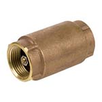 SC-CV30L | Lead-Free Cast Brass 200 WOG Threaded In-Line Check Valve - Series CV30L