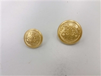 Blazer Button 107 - 2 Sizes (Golden Shiny Finish) - in Pack
