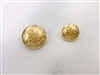 Blazer Button 108 - 2 Sizes (Golden Shiny Finish) - in Pack