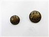 Blazer Button 112 - 2 Sizes (Bronze Shield with Black Background) - in Pack
