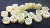 5mm Thickness Trocas Shell Shirt Button