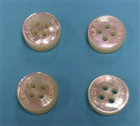 concave mother of pearl shirt buttons