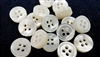 3mm Thickness Mother of Pearl Shirt Buttons - Mini Pack