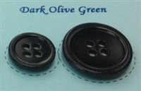 Dark Olive Green Pearl Suit Buttons